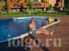 Бассейн летом